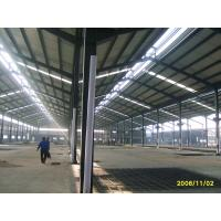 China Ready Made Steel Structures Garment Factory Building / Multi Spans Metal Workshop on sale