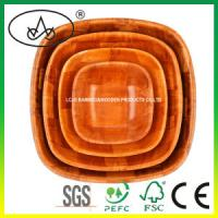 China China Cheaper Wooden Food/Fruit/Salad Bowl for Dinnerware wholesale
