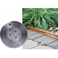 China Steel Recessed 12V 3w Mini Underground Light for Driveway / Square wholesale