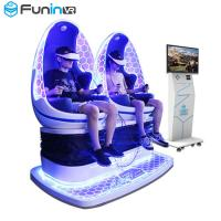 China Commercial 9D VR Simulator Seat Vibration Leg Sweep Two Seater wholesale