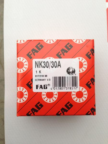Quality FAG NK30/30A needle roller bearing 30x40x30MM with machined rings, without an inner ring for sale
