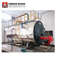 China Package Type Industrial Fire Tube Riello Burner Gas Steam Boiler 2000kg on sale