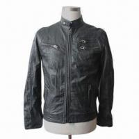 Buy cheap Fashionable Garment, Suitable for Men, Made of PU, Available in Various Colors, Sizes and Designs from wholesalers