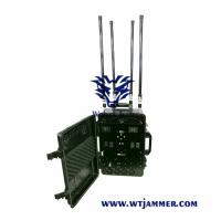 Buy cheap Military Type Mobile Phone Signal Jammer Six Channels 65 * 50.9 * 35.7 Cm from wholesalers
