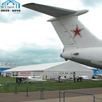 China Customized Temporary Warehouse Marquee , Military Aircraft Hangar Tent on sale