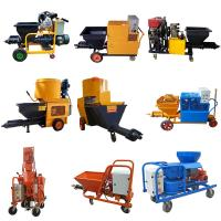 China High Performance Mortar Spraying Machine 3 Phase For Wall 4.4kw Motor Power on sale