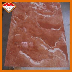 China Customized Size Orange Red Marble Stone Tile Exterior Wall Cladding Use wholesale