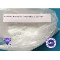 China 50-41-9 Weight Loss Steroids For Muscle Gain Clomid Clomifene Citrate wholesale