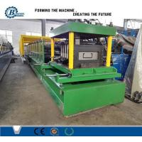 Cold Steel Strip Profile Z C Channel Roll Forming Machine With Punching Device