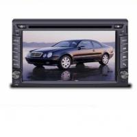 China 6.2inch touch screen double din car dvd with new 3D menu gps navigation wholesale