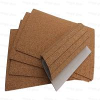 China Manufactory Wholesale cork pads for glass packing and shipping wholesale