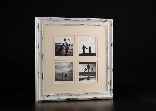 Poster design handmade - Wooden Collage Frames Distressed White Handmade Wood Picture Frames 27 X
