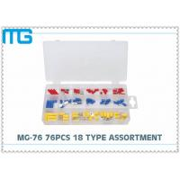 China MG - 76 76 Pcs Automotive Wire Connector Kit RV SV FDD Quick Disconects 18 Types wholesale