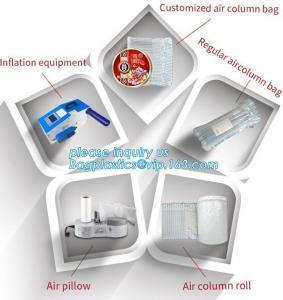 China cushion pillow air bag, cushion pillow dunnage air bag, air poly packing bag nylon air bubbles air pillow bag, bagplasti on sale