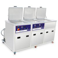 Buy cheap Three Tanks Industrial Ultrasonic Cleaning System With Ultrasonic Washing from wholesalers