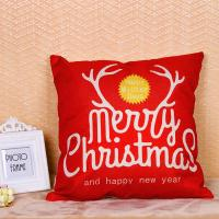 China Merry Christmas Series Sofa Cushion Covers Decorative Digital Printing For Gift wholesale