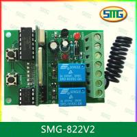 China SMG-822 12-24v BFT,Nice-smilo, ATA PTX-4,Doorhan,FAAC rolling code universal controller wholesale
