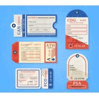 China Personalized custom Printable Luggage Tags for baggage printing service wholesale