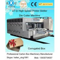 China Paper Printing Carton Making Machine With Remote Computer Diagnosis System wholesale