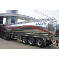 China HOT SALE!3 axles 44m3  aluminum alloy oil tank semi trailer for sale, best price CLW brand 3 axles fuel tank trailer wholesale