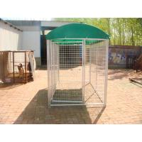 China Temporary Dog Fence For Sale 1.5m x 2.0m x 2.0m full hot dipped galvanized dog kennel for sale wholesale