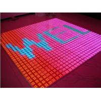 China P6.25mm LED Floor Tiles for Bar , SMD3528 HD Waterproof LED Screen wholesale