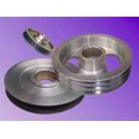 China Tungsten Carbide Ceramic Coating Aluminum Pulley Durable For Mid-Extension Machine on sale
