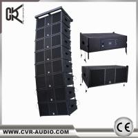 China wireless home theater system CVR powered professional line array speaker W-210BP wholesale