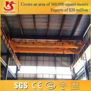 China LH electric hoist double beam Overhead Crane 20t wholesale