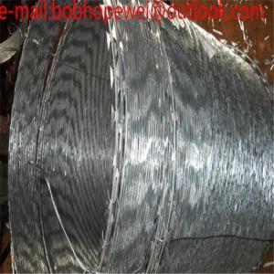 China wGalvanized Barbed Wire And Razor Wire/Concertina Razor Wire / Razor barbed Wire / High Security Razor Wire Fencing wholesale