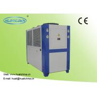 China Air Cooled Industrial Chiller For Injection Machine Air Cooled Galvanized Sheet Shell wholesale