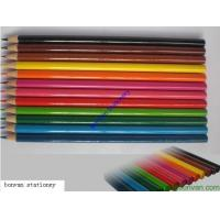 Buy cheap 12 long promotional color pencil set for back to school, advertising drawing use from wholesalers