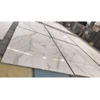 China Honeycomb Composite Polished Marble Floor Tiles / White Marble Shower Tile on sale