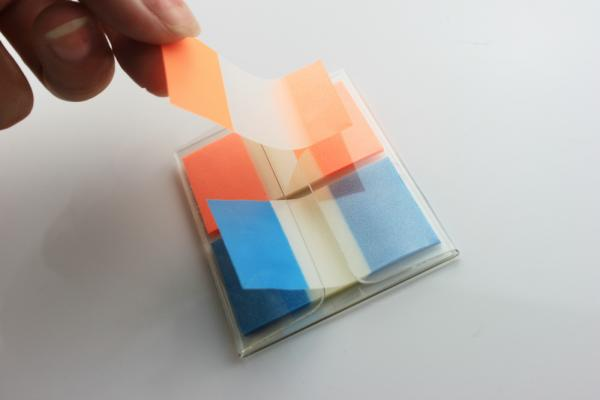 Sticky Note With Page Marker Images