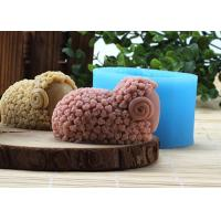 China Recyclable Sheep Silicone Rubber Mould , FDA Silicone Rubber Homemade Soap Moulds wholesale