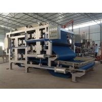 China Continuous / Automatic Sludge Belt Filter Press For Cassava Dewatering on sale