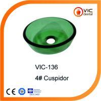 VIC-136 Dental glass cuspidor