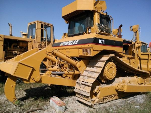used cat d7r bulldozer with ripper original caterpillar d7r for