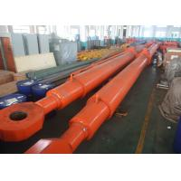 China Double Acting Telescopic Hydraulic Cylinder 1000KN 11m Hydraulic Hoist wholesale