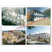 China Lightweight Steel Frame Flat Pack Prefab Containers For International Rescue Camp Or Clinic Office wholesale