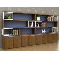 China Classic Cherry Wood Office Furniture Bookcase Large Size Scratch Resistant on sale