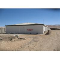 Easy Build Modern Prefab Commercial Buildings Movable High Strength Waterproof