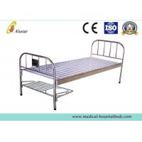 China Stainless Steel Flat Medical Hospital Beds With Shoes Holder (ALS-FB005) wholesale