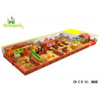 China Commercial Centers Baby Indoor Playground Colorful With PVC Soft Covering wholesale