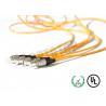 China 1F longitud del cable los 7m de Corning del cordón de remiendo de la fibra óptica de la cremallera 2m m con solo modo wholesale