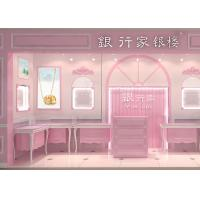China Rose Hermosa Jewellery Display Cabinets / Kiosk Display Cases For Retail Shop wholesale