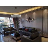 China Luxurious Leather Hotel Living Room Sofa Commercial Furniture Classic Design wholesale