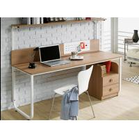 China Table type household double person Computer table, bookshelf combination table modern concise notebook computer table wholesale