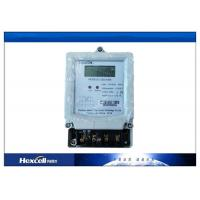China Electronic Electricity Meter / Watt Hour Meter IEC62053-21 Applicable Standard on sale