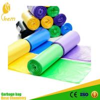 China garbage industry use hdpe rubbish bin liner plastic garbage bag wholesale